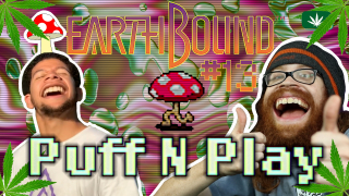 In Twoson, MUSHROOMS ON YOU! - Earthbound 13 - Puff N Play