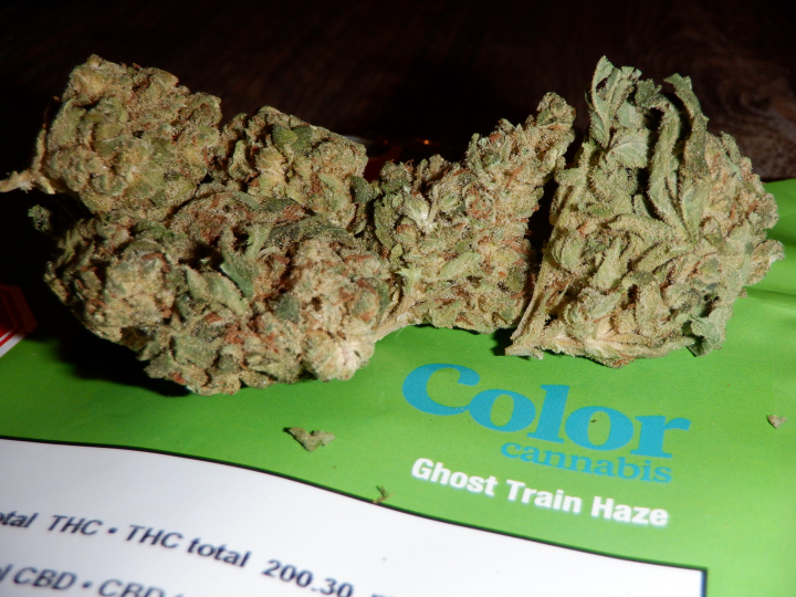 Strain Review Ghost Train Haze By Color Cannabis