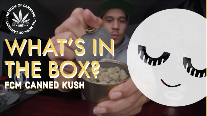 WE GOT SOME CANNED KUSH !?!? (FIRST CLASS MEDICINAL UNBOX)