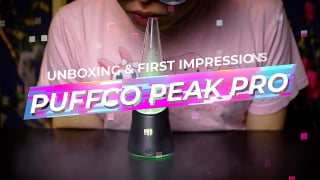 What's in the Box? The NEW Puffco Peak PRO Unboxing 2021   First Impressions & Product Demo