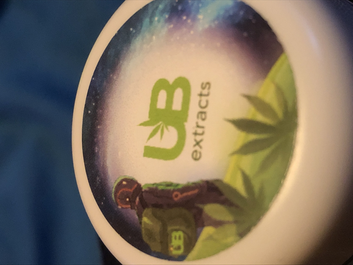 Dab review #2 (UBaked extracts)-Platinum Garlic