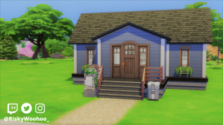 Stoned 10 Minute Build Challenge in the Sims 4