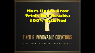 Mars Hydro Grow Trials First Indoor Grow Review