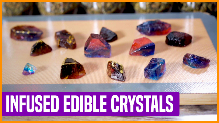 How to Make Infused Edible Crystals |