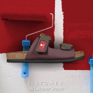 L.Stoner clothes line and shoes