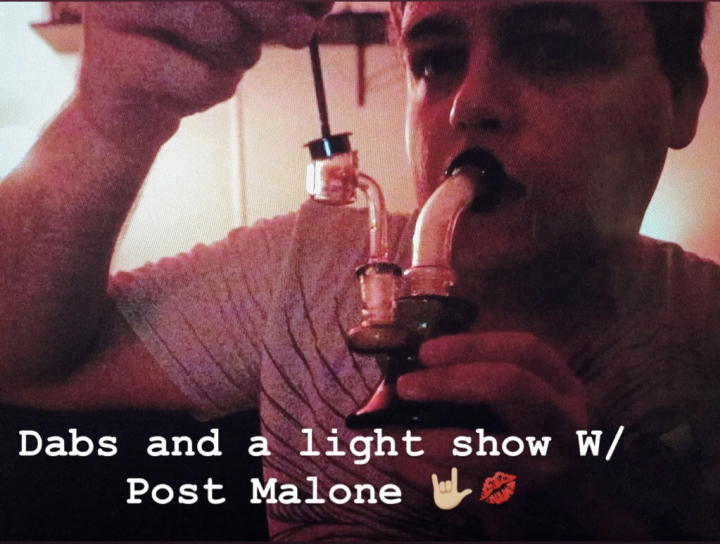 DAB LIGHT SHOW W/ Post Malone! | Vlogmas Ep.1
