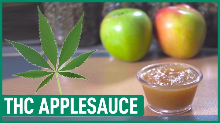 How to make Cannabis AppleSauce |  Making Applesauce with Cannabis