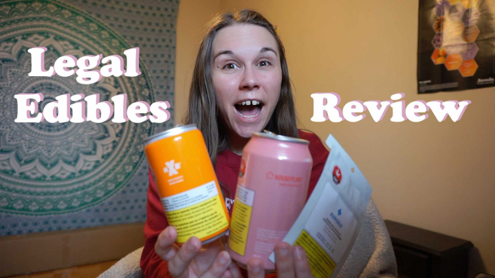 Legal CANADIAN Edibles Review