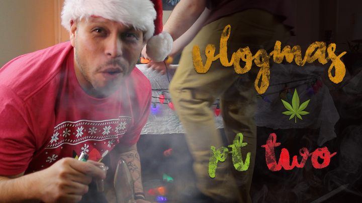 Vlogmas con Chuwy Day 2 – Stoned Dollar King Decorating – pt.2