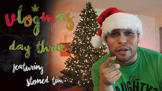 Vlogmas Con Chuwy - Day 3 - Stoned Christmas Tree Decorating FAIL