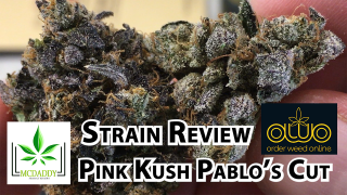 Pink Kush Pablo's Cut from Order Weed Online - Cannabis Strain Review