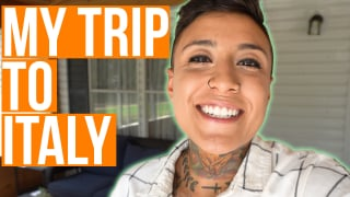 Traveling to Italy!