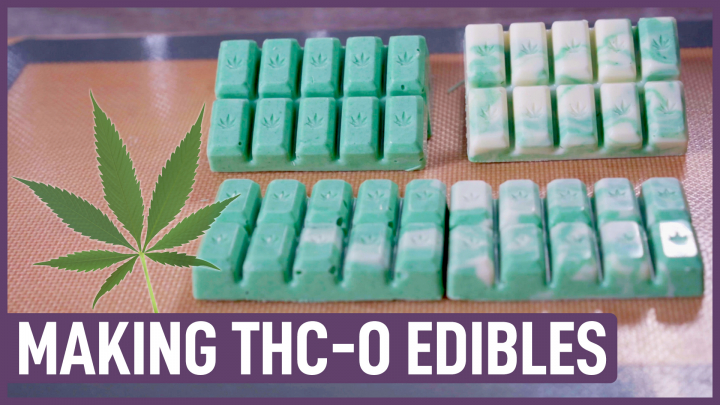 Making Easy Edibles with THC-O distillate   What's THC-O