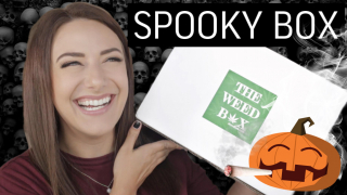 THE WEED BOX | Limited Edition Spooky Stoner Box {Oct. 2021}