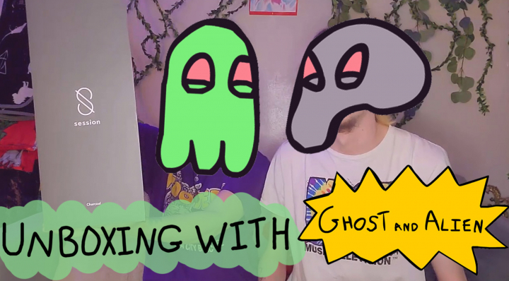 SESSION GOODS UNBOXING with Ghost and Alien (+DISPENSARY HAUL)