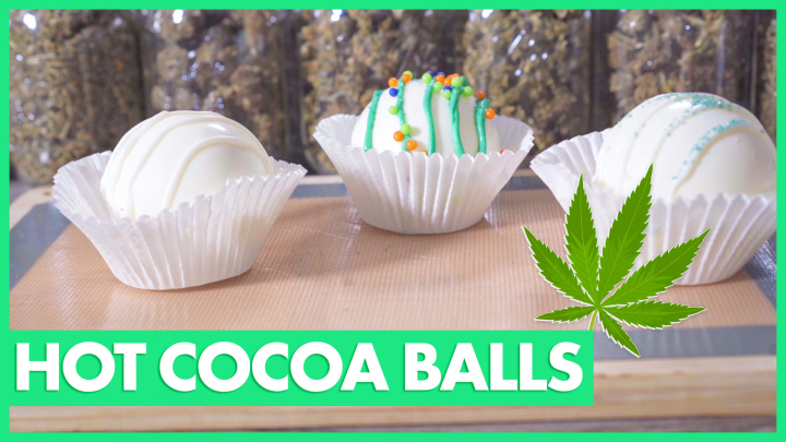 Cannabis Infused Hot Cocoa Balls