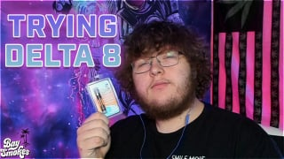 FIRST TIME TRYING DELTA 8 *BAYSMOKES* | DOES IT WORK?