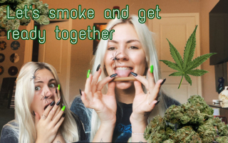 Get ready AND high with me