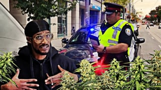 I Got Pulled Over With A 1/2 LB Of Weed... Then This Happened!!!