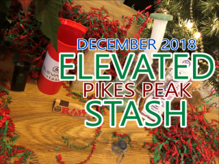 Elevated Stash Pikes Peak Box December 2018 Unboxing
