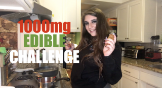 1000MG EDIBLE COOKING CHALLENGE!