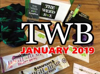 The Weed Box January 2019 Unboxing