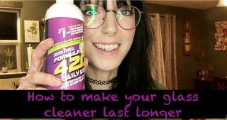 How to make your glass cleaner last longer