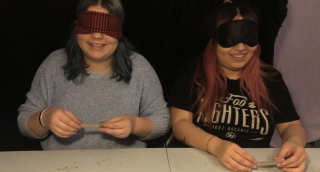 Rolling a Joint Blindfolded!!