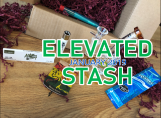 Elevated Stash Pikes Peak Box January 2019 Unboxing