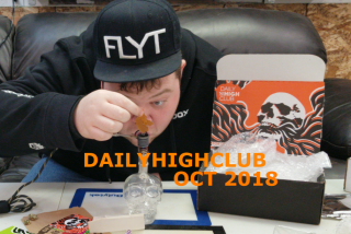 Daily High Club Subscription Box Unboxing/Review (October 2018) - Episode 5