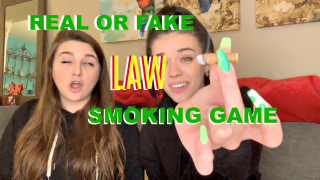 REAL OR FAKE LAW | smoking game