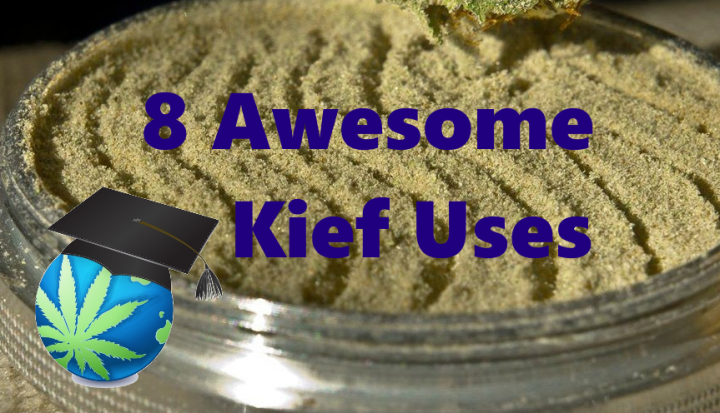 EIGHT Cool Things To Do With Your KIEF + Keefer Scraper