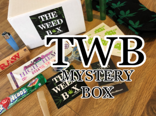 The Weed Box Mystery Box January 2019 Unboxing