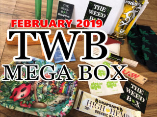 The Weed Box Mega Box February 2019 Unboxing