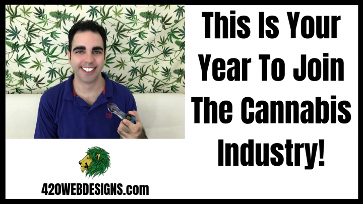 This Is Your Year To Join The Cannabis Industry