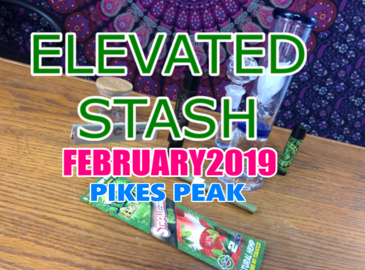 Elevated Stash Pikes Peak Box February 2019 Unboxing
