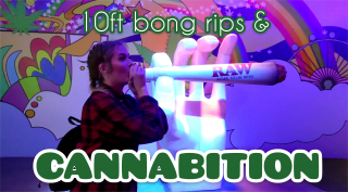 10 FOOT BONG RIPS BEFORE WEED MUSEUM feat. Medicated Marley & Dabb_Matt
