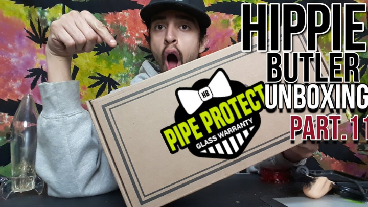 Hippie Butler Concentrate Unboxing||February 2019(Part.11)
