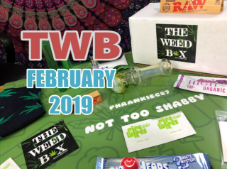 The Weed Box February 2019 Unboxing