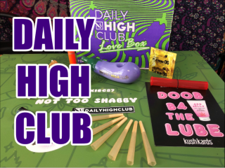 Daily High Club February 2019 Love Box Unboxing