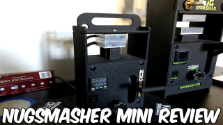 NugSmasher Mini Review (Portable Rosin Press)