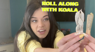 ROLL ALONG WITH KOALA | braided joint edition