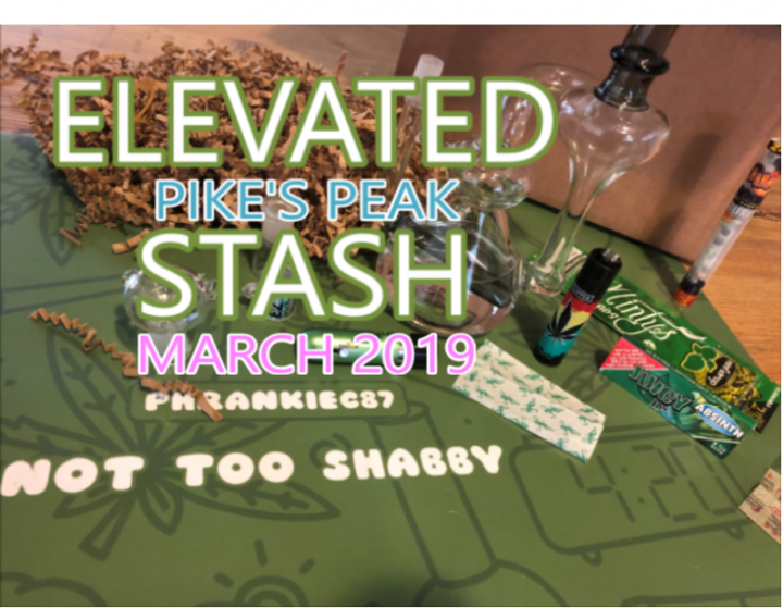 Elevated Stash Pikes Peak Box March 2019 Unboxing