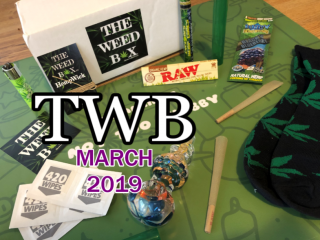 The Weed Box March 2019 Unboxing