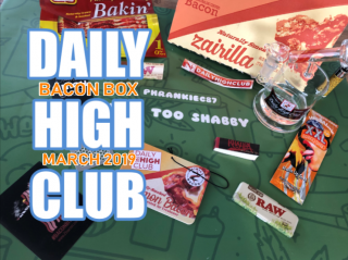 Daily High Club Bacon Box March 2019 Unboxing