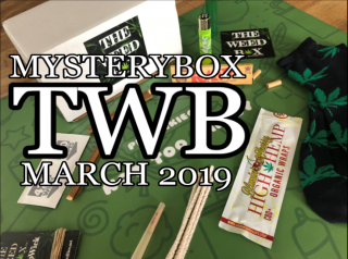 The Weed Box Mystery Box March 2019 Unboxing