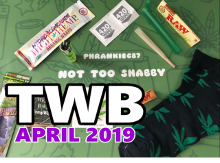 The Weed Box April 2019 Unboxing