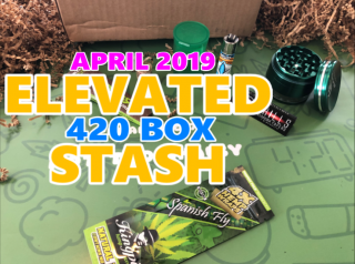 Elevated Stash Pikes Peak Box April 2019 Unboxing