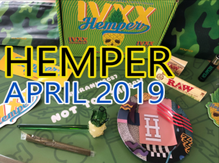 Hemper April 2019 StrainCentral Unboxing
