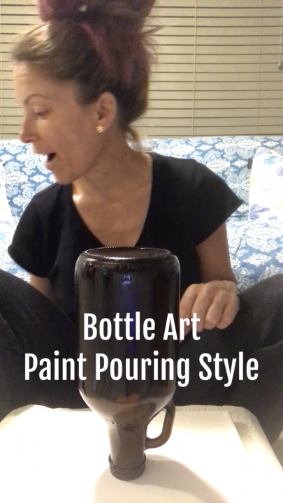 Puff & Paint - Pour Bottle - Bong Art with HotBox Mama